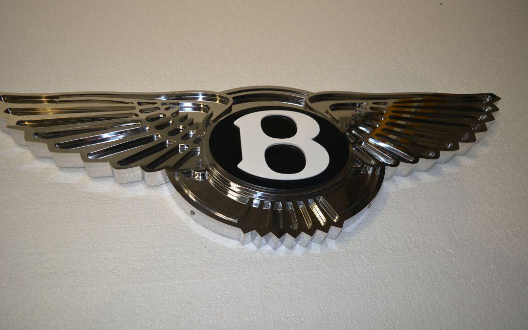 Mirror polished Bespoke Logo – Bentley Logo