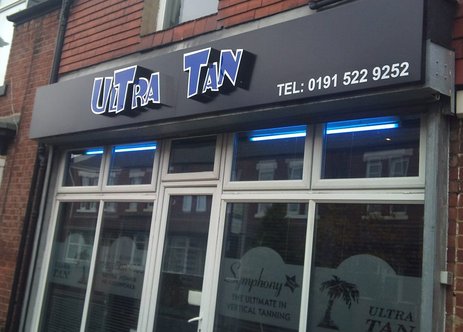 Ultra Tan – Fascia Sign